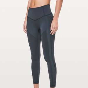 """Lululemon All The Right Places 28"""" Leggings"""